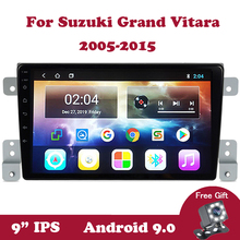 Android 9 Car Stereo Radio For Suzuki Grand Vitara 3 2005-2013 2014 2015 Car DVD Player GPS Navi Multimedia Radio Wifi IPS OBD2 android 9 0 car radio gps navi for peugeot 208