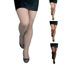 Sheer Tights Stocking Pantyhose Seamless High-Stretch Solid-Color Plus-Size Ultra-Thin