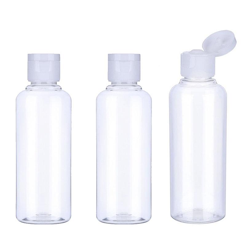 20 шт 10/30/50/60/100 мл пластиковые бутылки для шампуня пластиковые бутылки для путешествий контейнер для косметики Лосьон