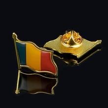Romania Bella Sventolando Bandiera Spilla Spille Gli Uomini/Monili Delle Donne Accessori