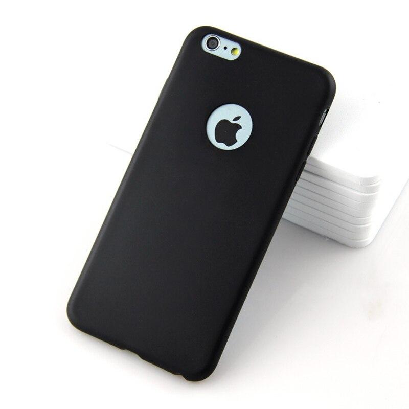 Custodia in silicone per iPhone 6S 6 7 8 Plus 7Plus 8 Plus SE 2020 iphone 11 12 Pro 12 mini X XS MAX XR custodia per cellulare in Gel Coque 2