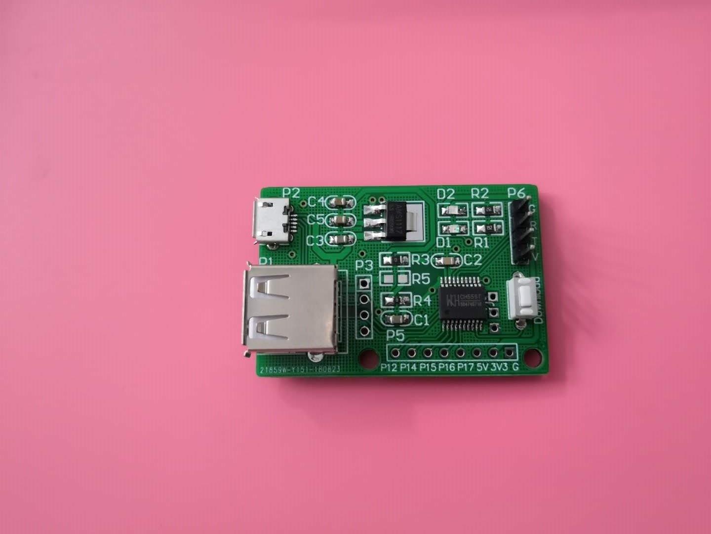 WCH CH559 CH559T USB Development Board Evaluation Board Learning Board HOST/DEVICE
