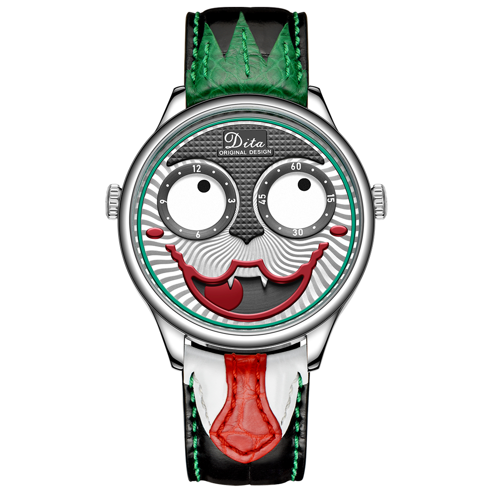 New Arrival 2020 Joker Watch Men Top Brand Luxury Fashion Personality Alloy Quartz Watches Mens Limited Edition Designer Watch 4