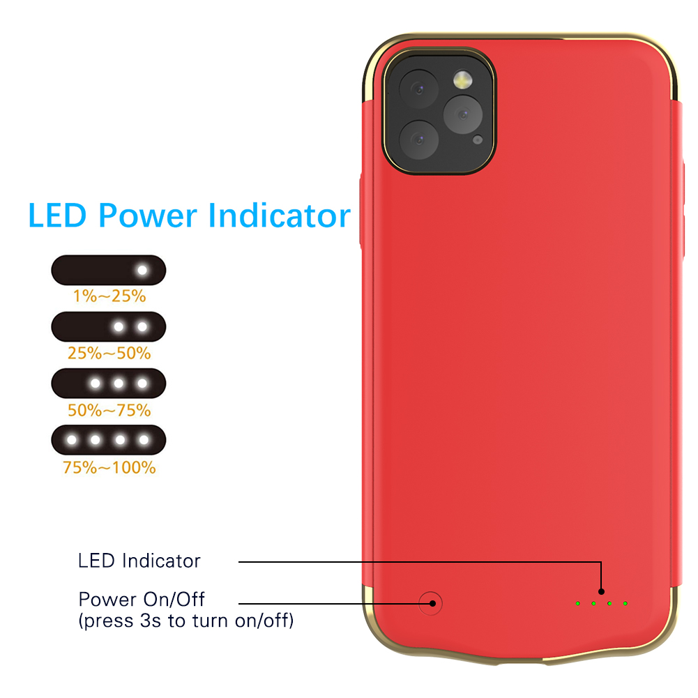Battery Case for iPhone 11/11 Pro/11 Pro Max 85
