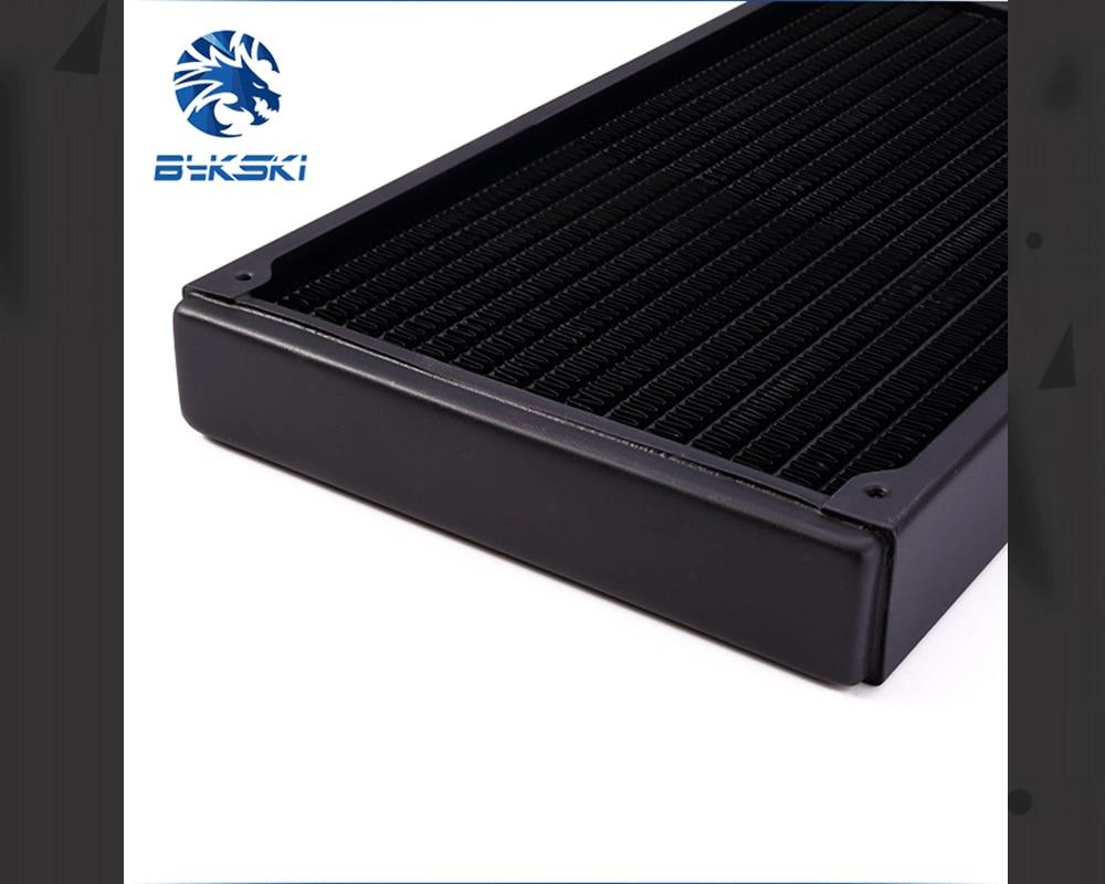 Bykski B-RD280-TN, 280mm Single Row Radiators, 28mm Thickness, Standard Water Cooling Radiators , Suitable For 140*140mm Fans