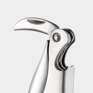 Image 5 - Xiaomi Mijia cercle joie acier inoxydable Sommelier couteau ouvre bouteille tire bouchon ouvre bouteille de vin accessoires intelligents