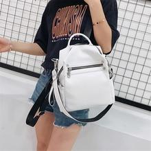Sac A Dos New Fashion Women Backpack Shoulder Bag Bagpack Backpacks for Teenage Girls Small Back Pack Rucksack Mochila Feminina