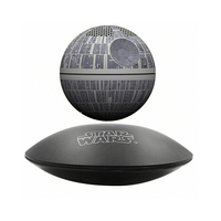 New version the original Star Wars STARWARS death star maglev bluetooth wireless stereo rotating 360 degree speakers