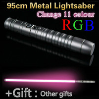 95cm For Children Cosplay Lightsaber Luke Skywalker Light Saber Jedi Sith Laser Force Fx Heavy Dueling Loud Sound High Gift Kids