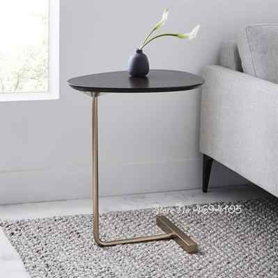 Minimalist Small Desk Home Sofaside Furniture Round Coffee Table For Living Room Small Bedside Table Design End Table Aliexpress