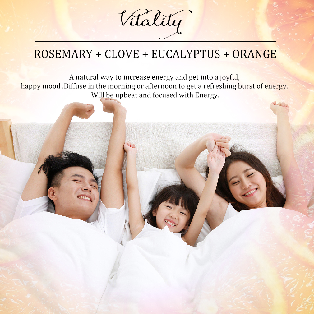 Compound essential oil Enhance the immune system,stimulate the body's potential vitality AND to promote blood circulation