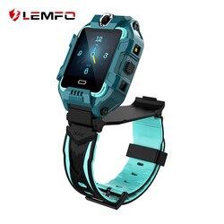 LEMFO Kinder Smart uhr 2020 4G HD Video Call GPS WIFI LBS Dual-Kamera Sport Fitness Smartwatch für Android IOS Telefon
