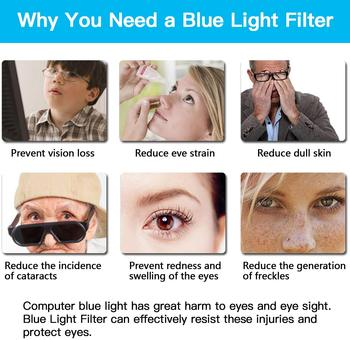 For HP Z23n G2 23 inch Blue Light monitor Screen Protector Anti Blue Light & Glare Filter Film Eye Protection