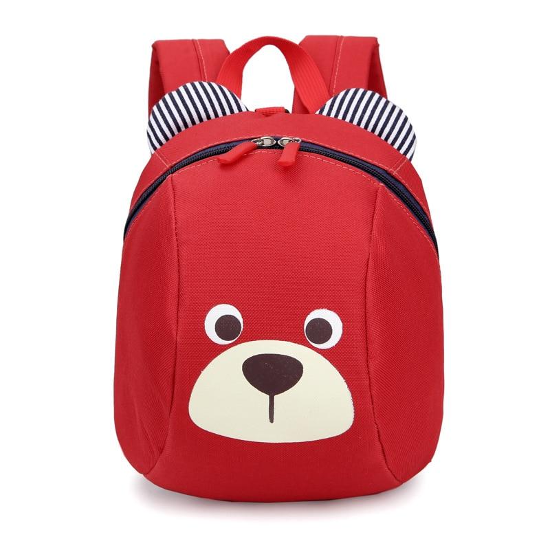 New Style Kindergarten School Bag Korean-style Cartoon Cute Mini Children's Backpack 1-3-Year-Old Baby Anti-Lost Bag