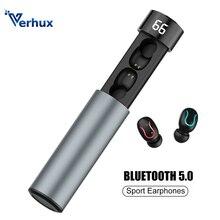 цена Q67 TWS Mini Bluetooth Earphone 5.0 Wireless Earbuds 3D Stereo  With Dual Mic Sports Waterproof Earphones Auto Pairing Headset онлайн в 2017 году
