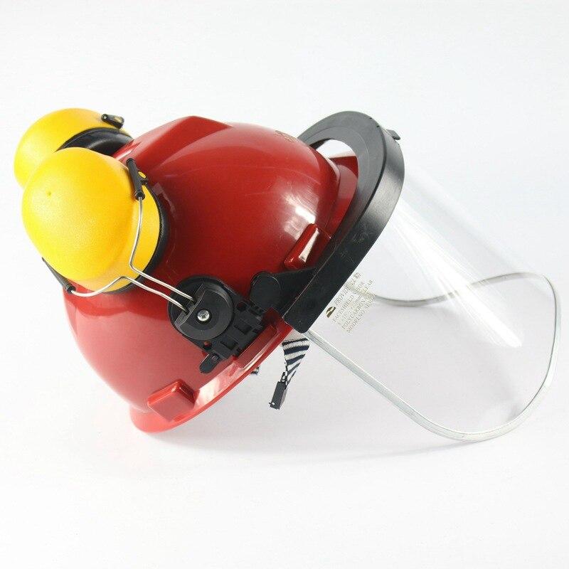 Обеспечивает фирменную защиту маска для лица щит наушник комплект из двух предметов комбинированная анти-шок высокотемпературная маска PC