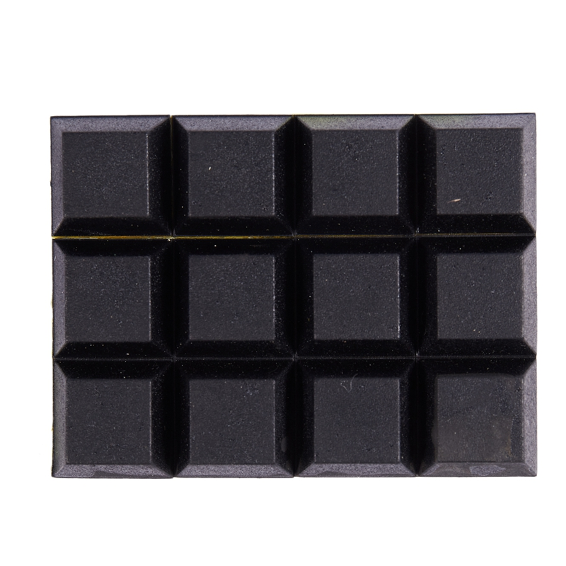 Table Chair Mini Rubber Feet Self-adhesive 20mmx20mmx8mm 12 In 1
