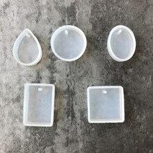 Silicone Mold Pendant Casting-Mould-Craft Crystal Resin Diamond Bracelet Jewelry Epoxy