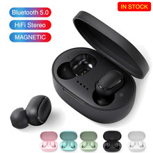 A6s tws bluetooth fones de ouvido sem fio 5.0 tws com cancelamento ruído microfone para xiaomi iphone huawei samsung