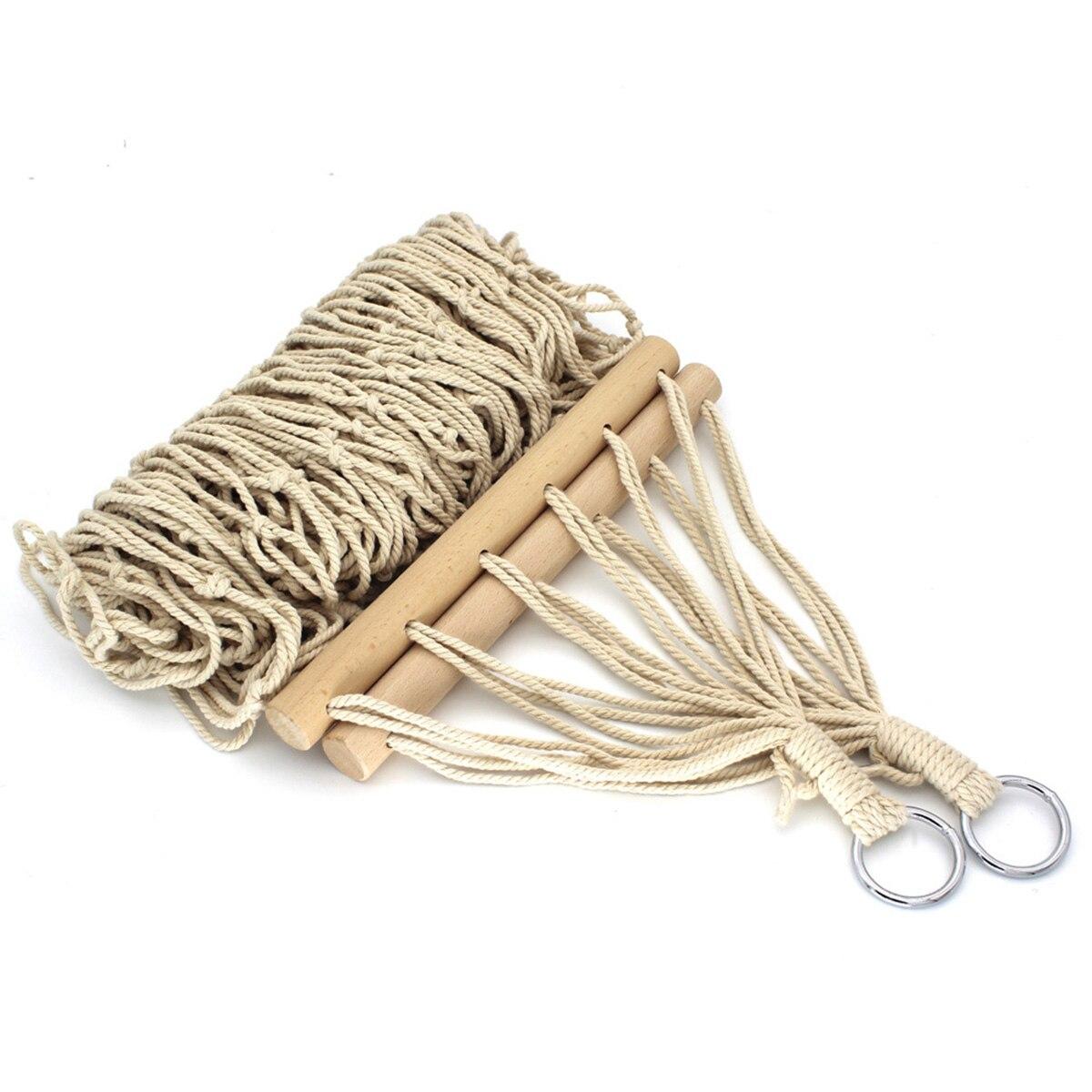 Открытый гамак для использования в помещении традиционный хлопковый гамак с сумкой для хранения подходит для кемпинга, рыбалки, пикника и м...