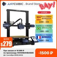 Pre-vendita ANYCUBIC Vyper stampante 3D livellamento automatico volume di costruzione 245*245*260mm stampante 3d FDM a 32 bit ad alta velocità