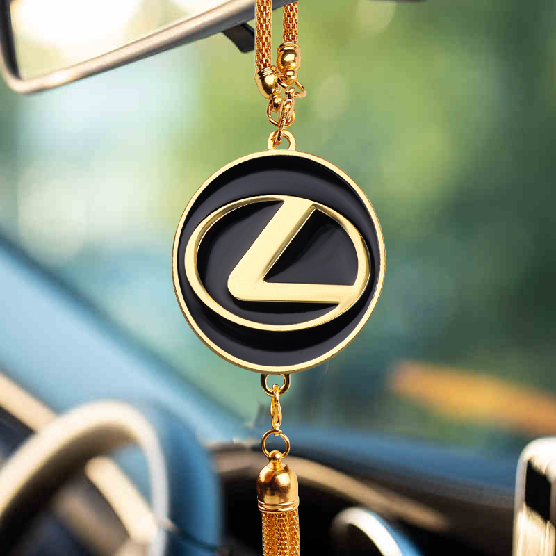Car Pendant Auto Decorations Interior Rearview Mirror Ornaments For Lexus RX 300 330 IS 250 300 GX 400 460 UX 200 NX LX LS GS ES