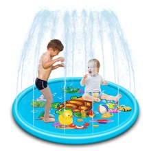Water-Spray-Mat Outdoor Inflatable Toy Pool-Games Kids Children Lawn Summer