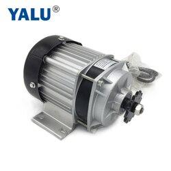 YALU BM1418ZXF 500 W 48 V UNITEMOTOR BLDC przekładnia planetarna silnika bezszczotkowy E trójkołowy elektryczny trójkołowy riksza silnik DC w Silniki do rowerów elektrycznych od Sport i rozrywka na