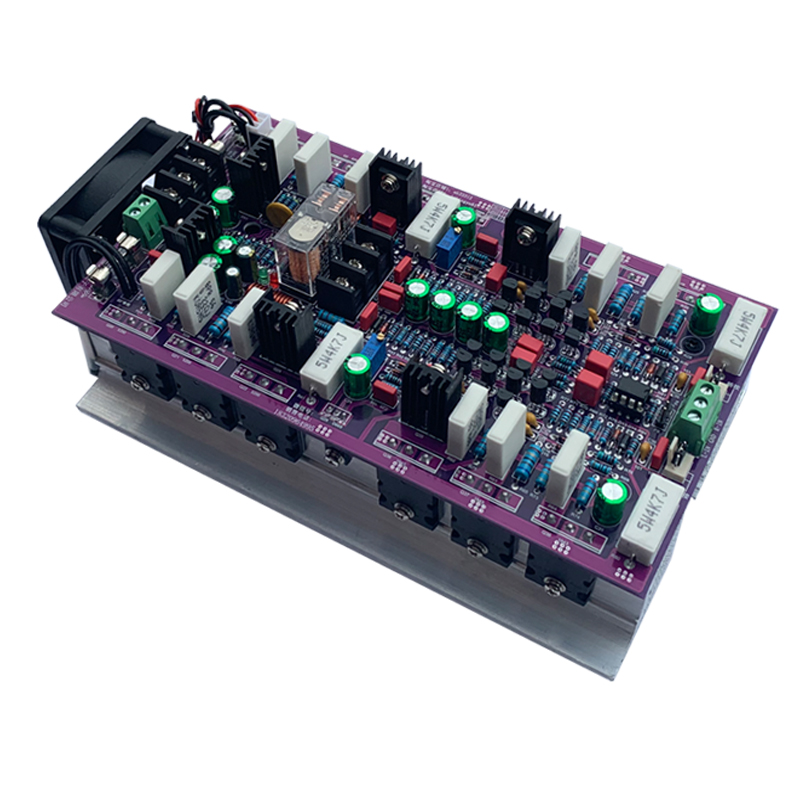 Upgraded version hifi Amplifier 2 .0 A class stereo audio 600W+600W dual channel high-power amplifier board H4-004