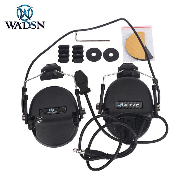 Z Tactical Sordin Hunting Headphone Noise Canceling Earphone Sordin Headset For Fast Helmets Newest Tactical Headset WZ034