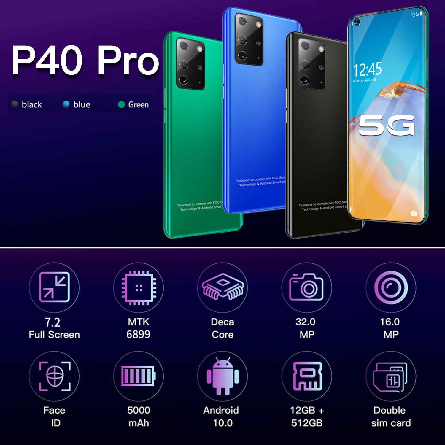 Cell Phone Hauwei P40 pro  3
