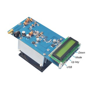 Image 2 - 50W PLL FM Estéreo Transmissor 87.5 M 108 MHz Máximo até 70W LED Digital Portátil de Rádio estação com Ventilador Do Dissipador H4 002