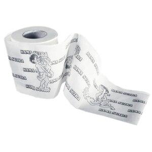 1Roll Roll Wc Papier Kamasutra Bad Streich Witz Lustige 80 Blätter 2 Schicht Papier Tissue Haushalt Reinigung Roll Papier geschenk