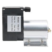 Вакуумный всасывающий насос отрицательного давления с подставкой 80 кПа 10 Вт DC24V/DC12V