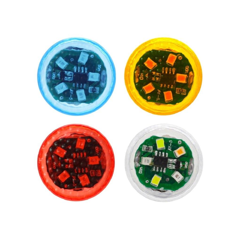NEW 5 LEDs Car Door Opening Warning Lights Wireless Magnetic Induction Strobe Flashing Anti Rear end Innrech Market.com
