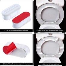 4pcs/Set Self-adhesive Toilet Seat Gasket Home Garden Househ