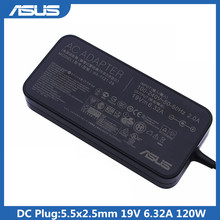 Для Asus PA-1121-28 Зарядное устройство переменного тока для Asus N750 N55 19V 6.32A 120W 5,5*2,5 адаптер для ноутбука Asus N750 N500 G50 N53S N55