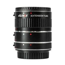 Viltrox телефон с автофокусом AF Макро Удлинитель для объектива адаптер для Canon EOS 2000D 1500D 850D 77D 60D 5D Mark IV III 7D II 80D 1DS