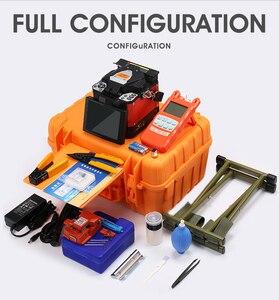Image 5 - A 80S Orange Automatic Fusion Splicer Machine Fiber Optic Fusion Splicer Fiber Optic Splicing Machine