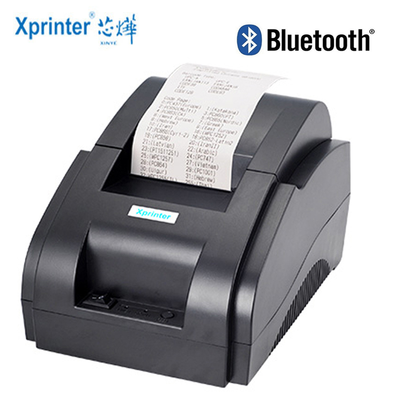 Xprinter 58mm Bluetooth Receipt Printer Thermal Pos Printers For iOS Android Mobile Phone USB Bluetooth Port For Store|Printers| |  - AliExpress