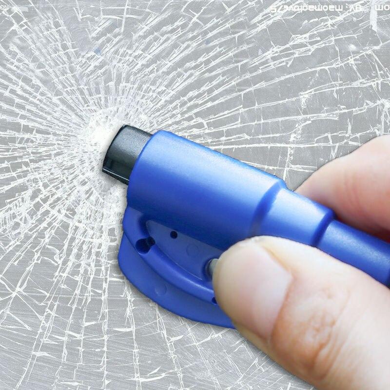 Car Keychain Life Saving Hammer Emergency Rescue Tool Car Accessories Seat Belt Cutter Window BreaK Tool Safety Glass Breaker