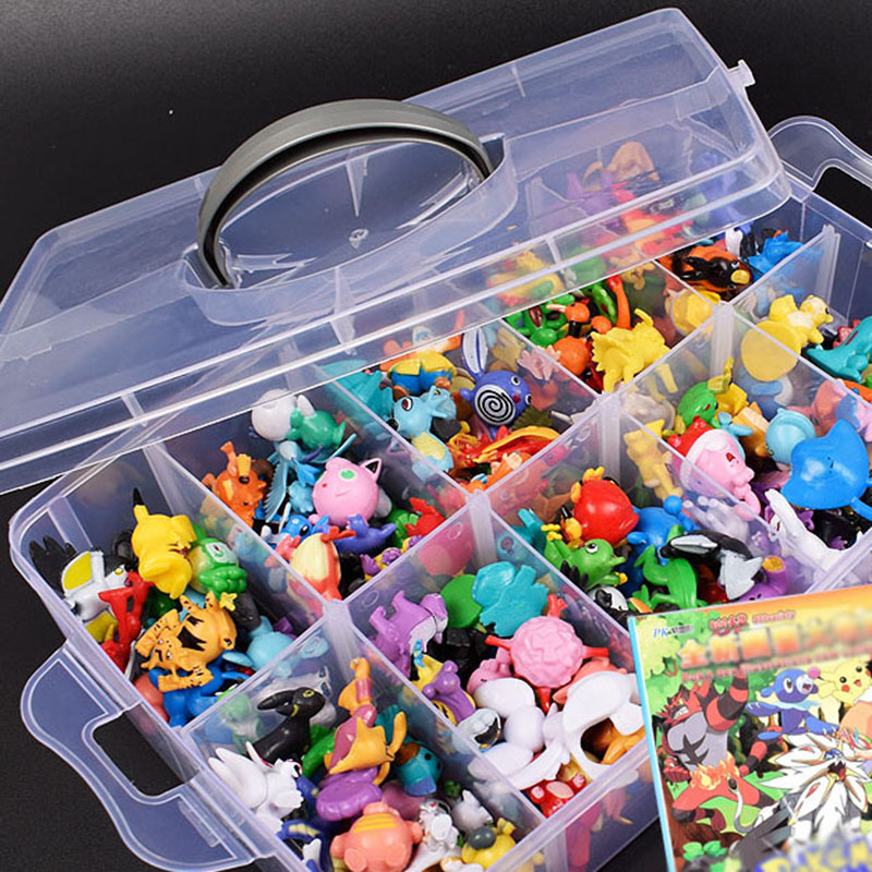 2-3CM 144Different Styles 24pcs/set Hot small Toys Anime pokemones Figure Action figure Toys Model Toys Gifts For Children Gifts image