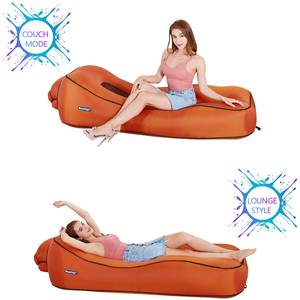 Image 5 - BEAUTRIP Air Lounger Inflatable Lounge Sofa Bed Lazy Sleeping Beds Camping Beach Hangout Couch Waterproof Mattress Water Floats