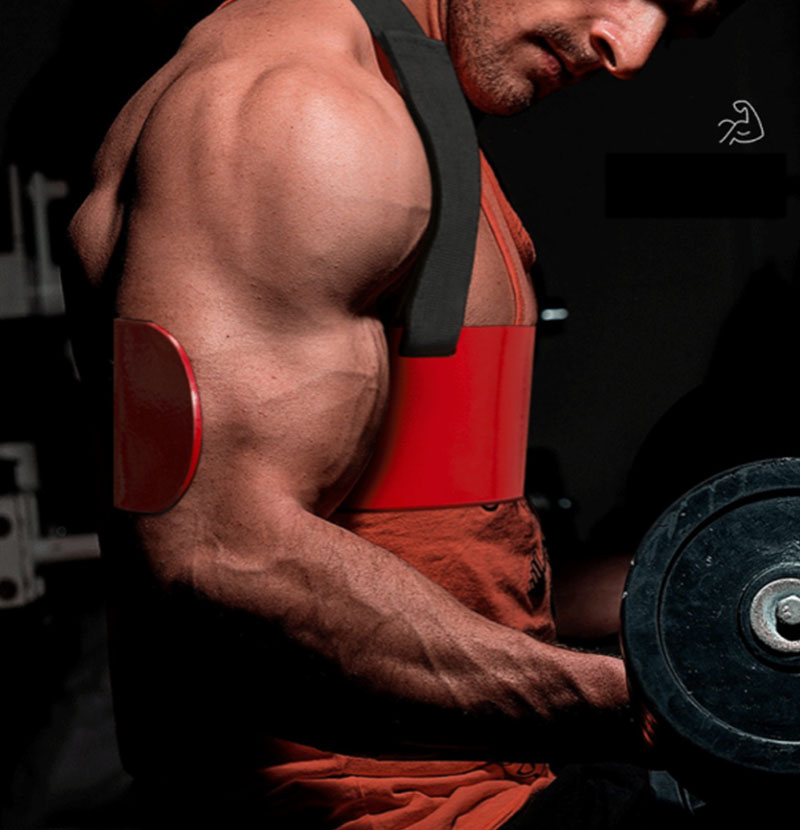 Biceps Bodybuilding Aluminum Alloy Gym Muscle Fitness Equipment Training Board