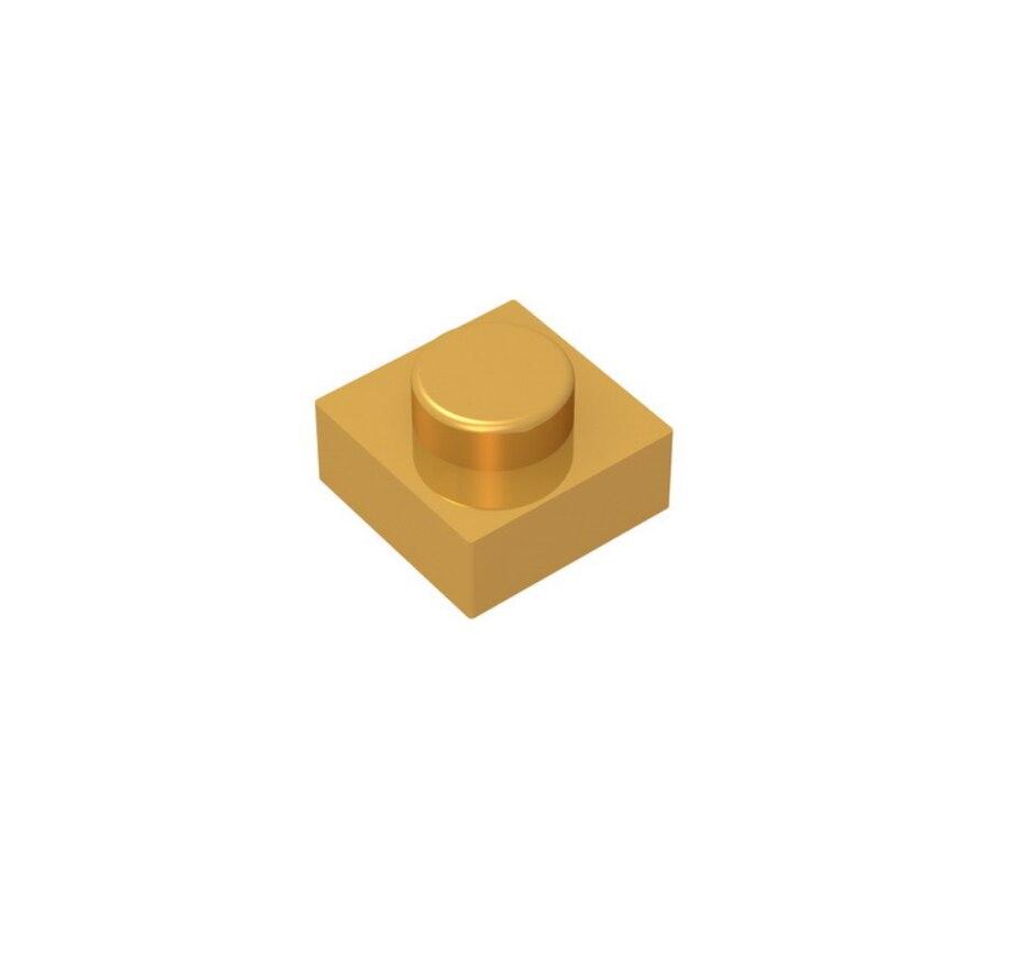 BuildMOC 3024 Plate 1X1 For Building Blocks Parts DIY LOGO Educational Creative Gift Toys