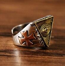 Серебряные ювелирные изделия s925 в стиле ретро мужские кольца