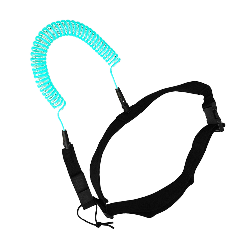 10ft Surfboard Waist Rope SUP Safety Rope Belt for Surfing Beginner 120CM Water Sports Stand up Paddle Board