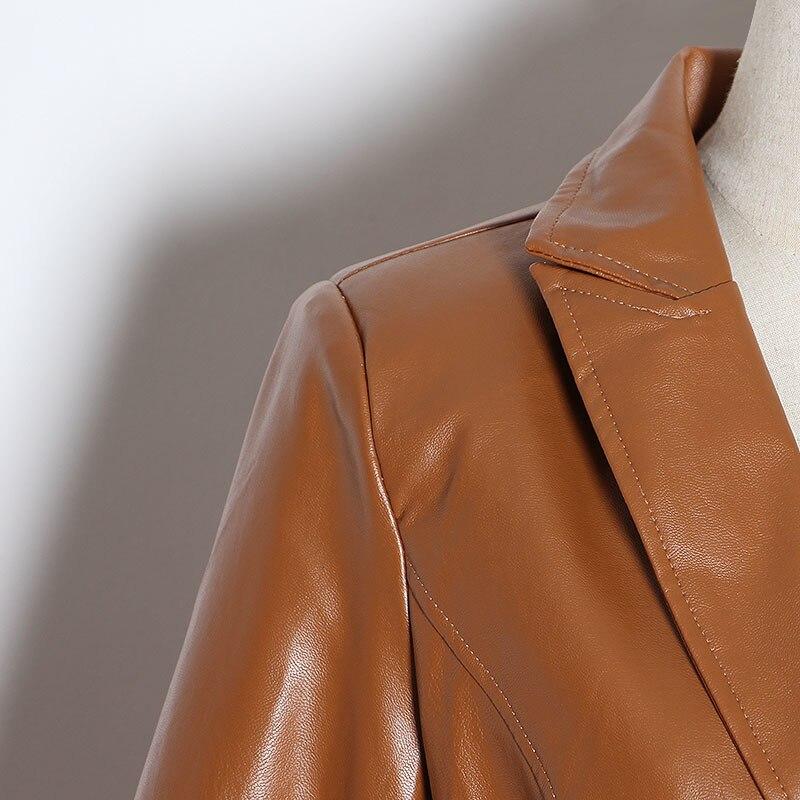 Coat High Leather Last 16