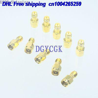 DHL 200pcs Conversion Adapter RPSMA female F to SMA male M connector RF for Antenna connector 22-ct