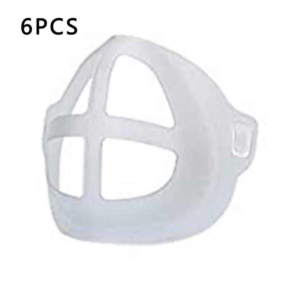 6-piece disposable face mask inner pad holder inner support Mask bracket non-stick lipstick breathing accessories